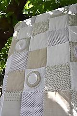Úžitkový textil - V krajine zázrakov...béžovo- biele prevedenie...:))) - 9758150_