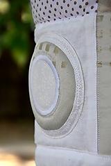 Úžitkový textil - V krajine zázrakov...béžovo- biele prevedenie...:))) - 9758153_
