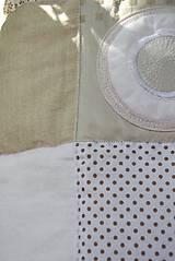 Úžitkový textil - V krajine zázrakov...béžovo- biele prevedenie...:))) - 9758154_