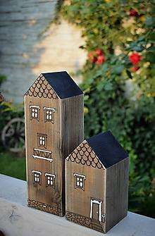 Dekorácie - Domčeky z malého mestečka II. - 9757246_