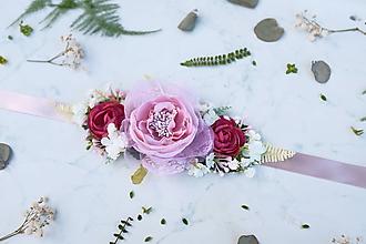 Opasky - Kvetinový opasok - 9761508_
