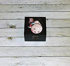 Krabičky - Motýľ a mesiac - 9760314_