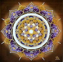 Obrazy - Mandala poznania a úspešných skúšok - 9760573_