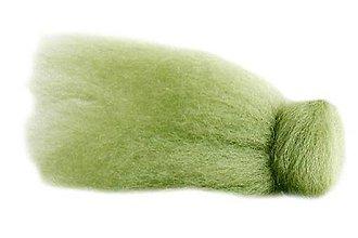 Textil - Merino - pastelovo zelená (30g) - 9761334_