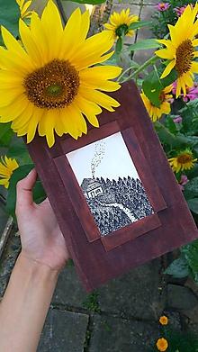 """Papiernictvo - """"Stratený v lese"""" - zápisník v recyklo-obale - 9762074_"""