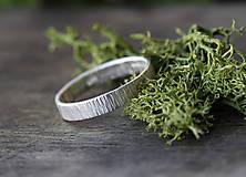Prstene - Obrúčky z kôry, patinované - 9760564_