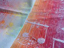 Textil - Lenny Lamb Symphony Rainbow Light - 9760773_