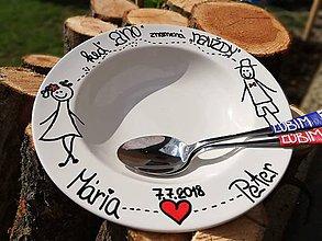 Darčeky pre svadobčanov - Svadobný set pre mladomanželov - 9759971_