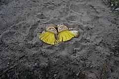 Náušnice - Žlté náušnice - Medúzy - 9762025_