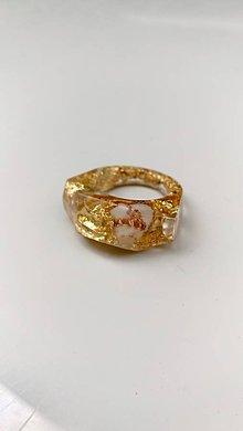 Prstene - Zlatý prsteň LA MADDALENA- zázrak - 9760326_