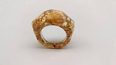 Prstene - Zlatý prsteň LA MADDALENA- sahara - 9760384_
