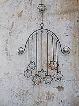 Dekorácie - Hvězdy - závěs - 9760411_