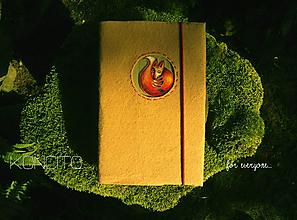 Papiernictvo - Kožuch/obal na knihu: l í š k a - 9763757_