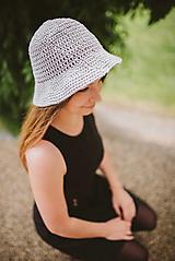 - Letný klobúk-100% bavlna - 9762915_