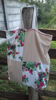 d865195c46 Farebné recy handmade a patchwork - lienka97 Tašky Nákupné tašky ...
