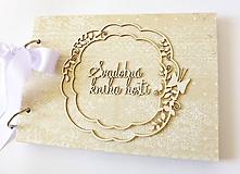 Papiernictvo - svadobná kniha hostí - 9763410_