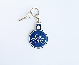 Kľúčenky - Prívesok cestička pre cyklistov - 9762959_