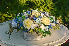 Celoročná vintage dekorácia s ružami