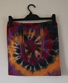Nákupné tašky - Batikovaná taška,