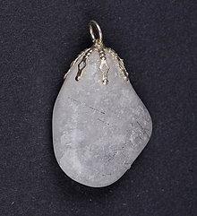 Iné šperky - Krištáľ so skorylom p130 - 9763928_