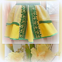 Detské oblečenie - Suknička s výšivkou. - 9763632_