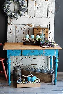 Nábytok - Sedliacky stôl - 9763536_