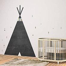 Detské doplnky - Teepee - tabuľa - 9763346_