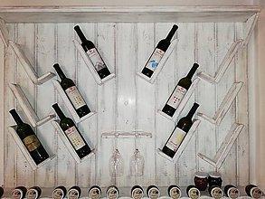 Nábytok - Polica na víno. - 9766156_