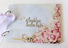 Papiernictvo - svadobná kniha hostí - 9764688_