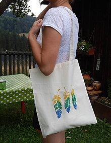 Nákupné tašky - Plátená nákupná taška - Indiánske leto zľava z 8,50 - 9766813_