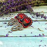 Náušnice - Dragons - sutaškové náušnice - 9767032_