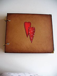 Papiernictvo - vintage fotoalbum - 9765601_