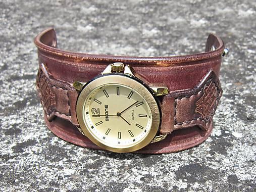 404b0a773 Pánsky kožený remienok hnedý / leon - SAShE.sk - Handmade Náramky