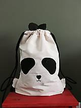 Batohy - ušimi panda ruksačik - 9764701_