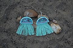Mentolové náušnice - Medúzy