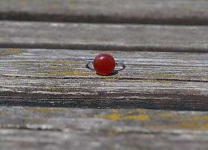 Prstene - Achát prsteň Ag 925 - 9765166_