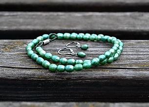 Sady šperkov - Perly sladkovodné náhrdelník a náušnice AKCIA ! - 9766442_