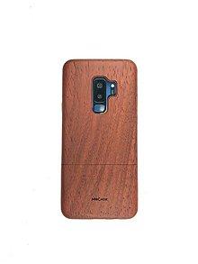 Na mobil - Drevený kryt MoCase na Samsung S9+ Padouk - 9764976_