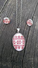 Sady šperkov - Náušnice + náhrdelník - 9765299_
