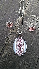Sady šperkov - Náušnice + náhrdelník - 9765373_