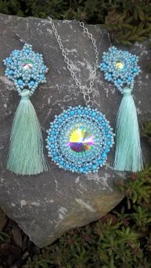 Sady šperkov - Blue mist - 9764673_