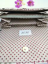 Peňaženky - Peňaženka- fashion - 9769890_