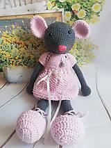 Hračky - Myška spoločníčka - 9769277_