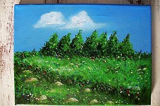 Obrázky - Stromy na lúke - 9769357_