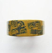 Papier - washi páska - travel, cestovanie, známka, pečiatka, razítko, pošta - 9768346_