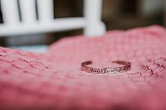 Náramky - Oceľový náramok s vlastným textom - 9767659_