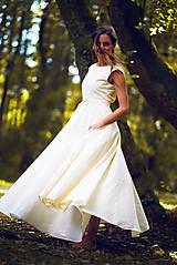 Šaty - Šaty z ľanového plátna - 9770136_