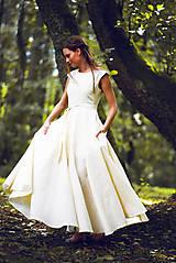 Šaty - Šaty z ľanového plátna - 9770137_