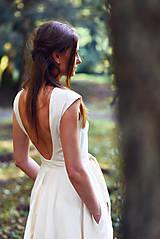 Šaty - Šaty z ľanového plátna - 9770139_