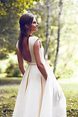 Šaty - Šaty z ľanového plátna - 9770140_